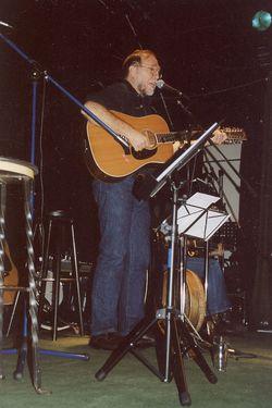 Folksänger John Shreve im Konzert
